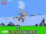 Игра Легкая атлетика - метание копья онлайн