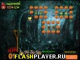Игра Злая птица: Хэллоуинский лес онлайн