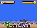Игра Время для атаки, Марио! онлайн