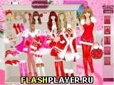 Одень Барби на Рождество