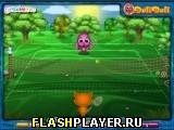 Игра Тото и Сиси играют в теннис онлайн