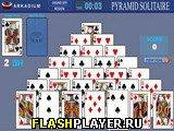 Игра Пасьянс Пирамида на время онлайн