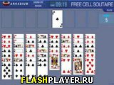 Игра Пасьянс Свободная ячейка на время онлайн