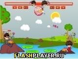 Игра Бен 10 против Бакугана - конфетная война онлайн