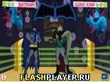 Драка Бэтмена и Короля часов