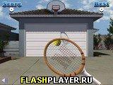 Дверь гаража и теннис