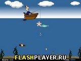 Игра Деревенская рыбалка онлайн