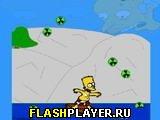 Игра Спасай Симпсона 2 - реактивный дождь онлайн