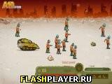 Танковый прорыв в город зомби
