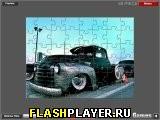 Пазл с грузовиком Чеви