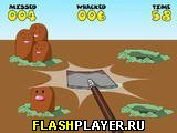 Игра Нашествие кротов онлайн