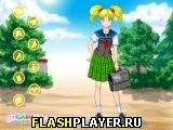 Одень школьницу аниме