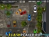 Полицейская парковка в тропиках
