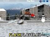 Зимняя гонка на снегоходах