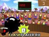 Взрывоопасная гонка быков