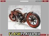 Пазл с мотоциклом