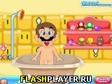 Марио принимает душ
