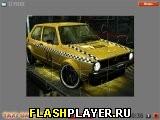 Пазл такси VW Гольф