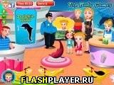 Игра Малышка Хэйзел в дельфинарии онлайн