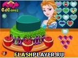 Торт Эльзы в день Святого Валентина