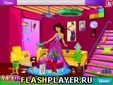 Принцесса Жасмин убирает в гостиной