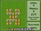 Игра Раскрась пасхальные яйца онлайн