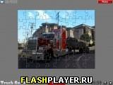 Большой грузовик пазл