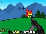 Игра Мания стрельбы по тарелочкам онлайн