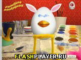 Игра Раскрась яйца онлайн
