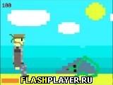 Игра Приключение трусливого Снейка онлайн