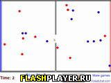 Игра Синие и красные шарики 2 онлайн
