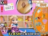 Анна играет с маленькой Эльзой