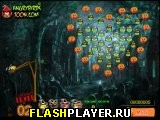 Игра Злые птички в лесу на Хэллоуин онлайн