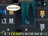 Игра Бэтман скачет по крышам онлайн