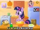 Пони готовит торт