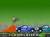 Игра Бен10 внедорожный мотоцикл онлайн
