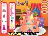 Торт замок принцессы 2
