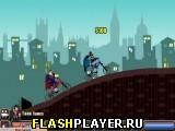 Бэтмен против Супермена – BMX гонка