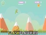 Игра Прыгающая лягушка-парень онлайн
