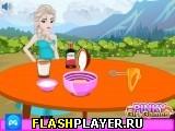 Эльза готовит крем