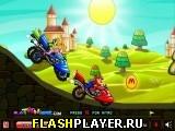 Мото гонка Марио