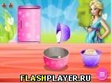 Игра Беременная Эльза готовит пасхальные яйца онлайн