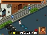 Игра Забег с быками онлайн