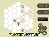 Игра Линии в шестиграннике онлайн