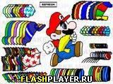 Игра Одень Марио онлайн