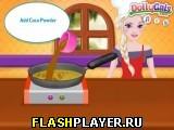 Эльза готовит торт с Кока-колой