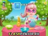 Барби готовит сахарную вату