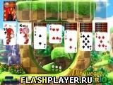 Игра Пасьянс Соника онлайн