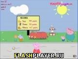 Игра Пеппа на роликах онлайн