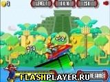 Игра Супер Марио в джунглях на скутере онлайн